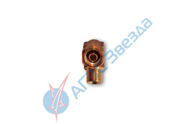 Уголок для подвода трубки D8 в мультиклапан Tomasetto, Atiker