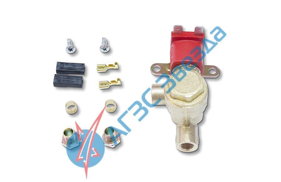 Клапан газа Atiker электромагнитный с боковым фильтром