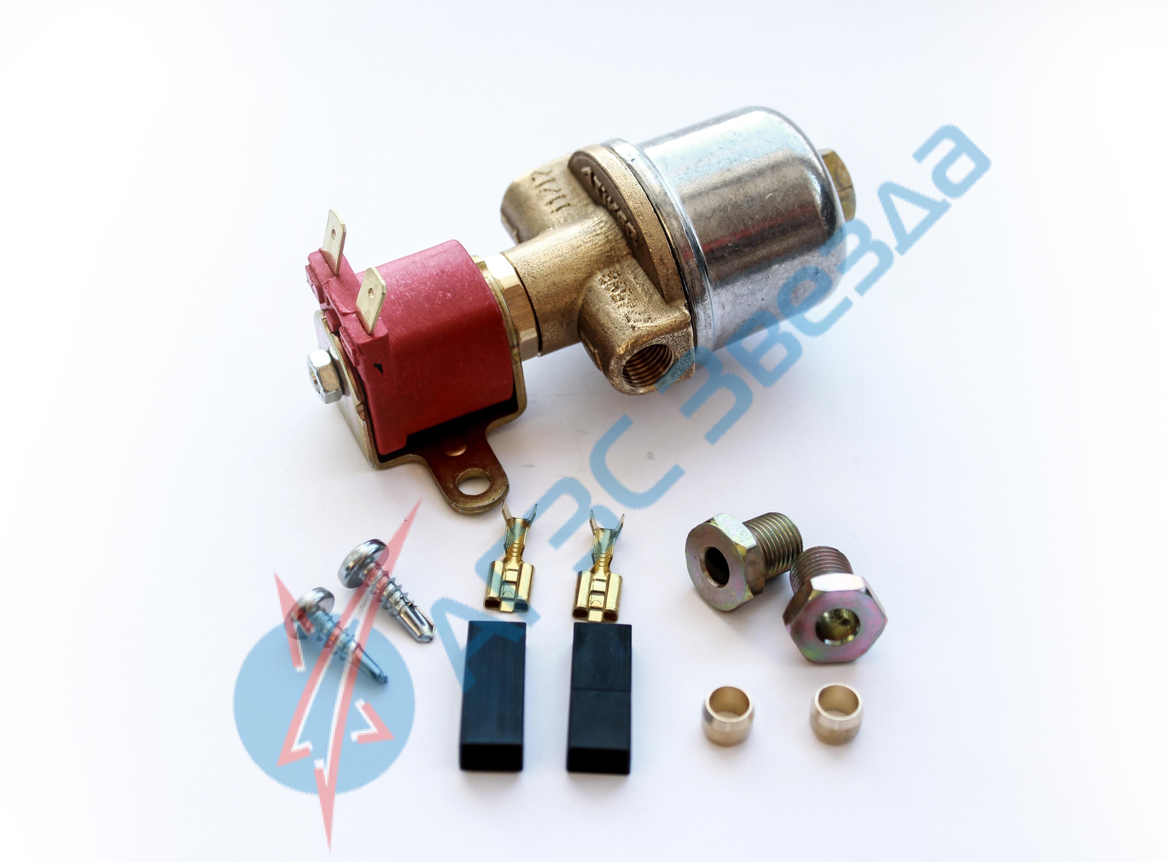 Клапан газа Atiker электромагнитный с нижним фильтром
