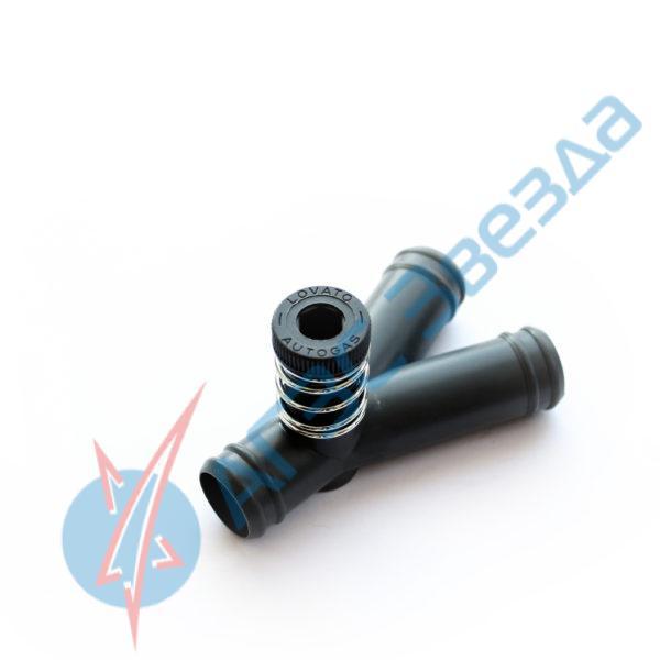 Дозатор подвода газа Lovato 19х19х19 с 1 регулятором