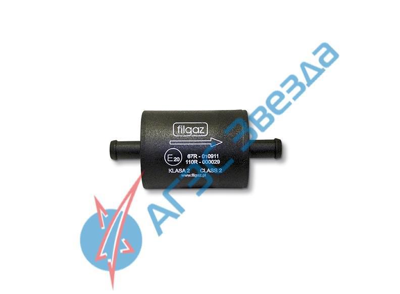 Фильтр газа системы впрыска Filgaz 12х12 пластик