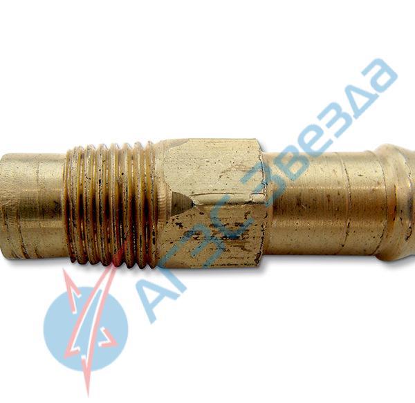 Штуцер подвода газа в карбюратор 8х10 мм