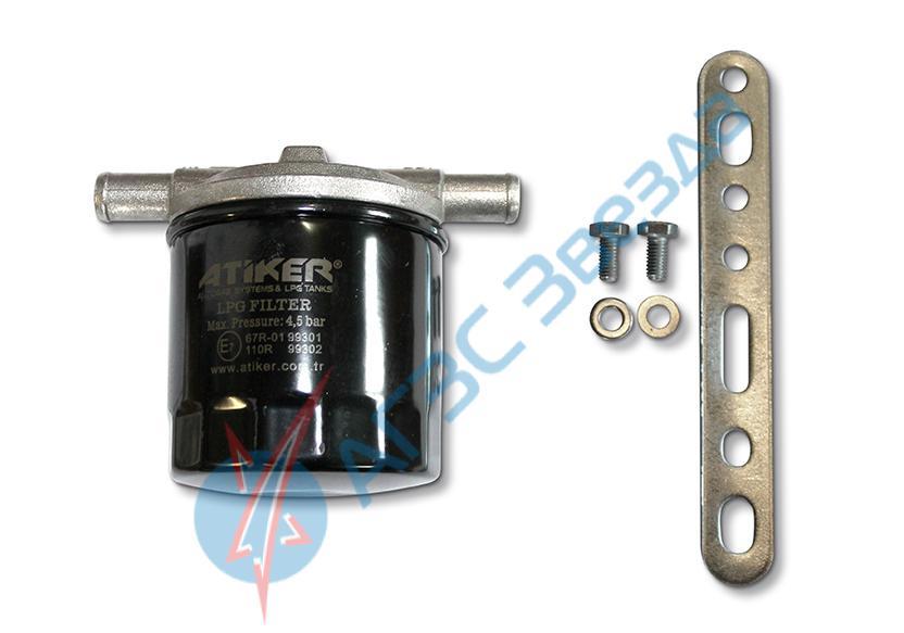 Фильтр газа системы впрыска со сменным картриджем